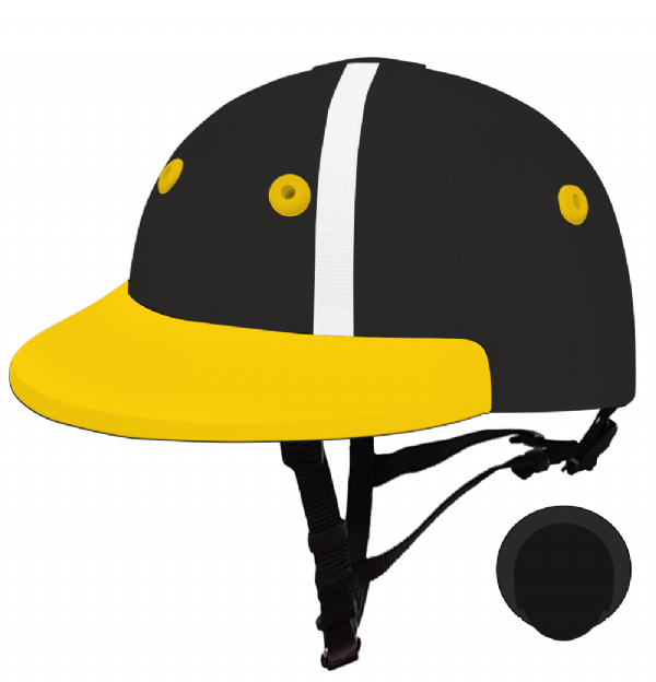 English Peak Style Helmet Polo. (x 1) (82238372-hwp99sjb)